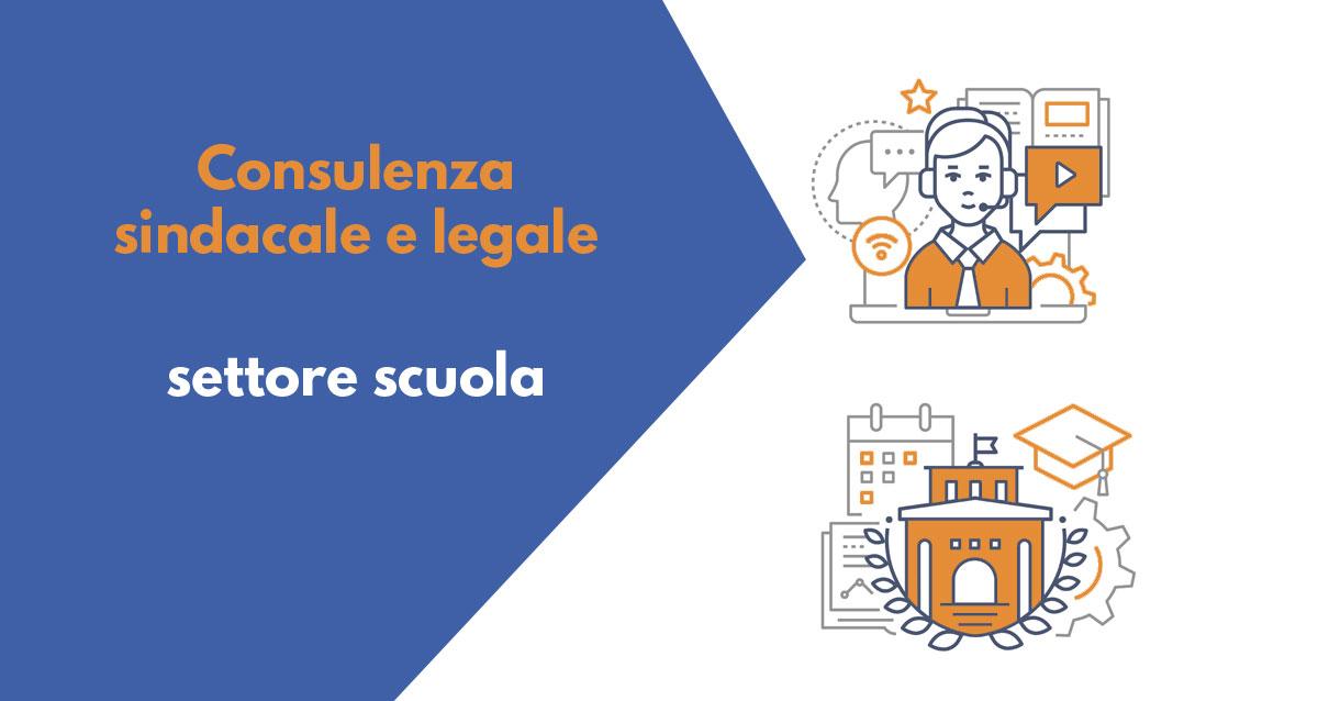 Read more about the article Consulenza sindacale e legale per il settore scuola per il 3 giugno 2020